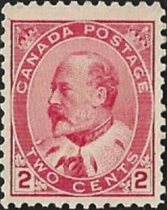 Canada   # 90    KING EDWARD VII    Very Fine 1903  Used Issue