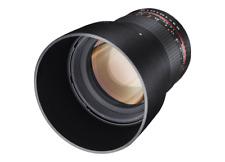 Samyang 85mm F1.4 Aspherical IF UMC Lens For Pentax K K-5 30 01