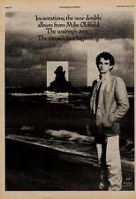 Mike Oldfield Incantations UK LP advert 1978