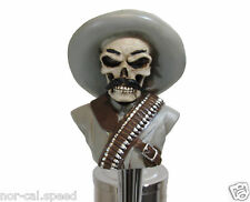 Gringo Skull Beer Tap Handle Keg Knob Pub New Vintage Tapper Bar Kegerator Pull