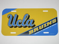 UCLA Bruins Plastic License Plate - Weather Resistant w/ Vibrant Colors