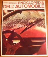 Pininfarina ENCICLOPEDIA DELL'AUTOMOBILE 1968 n° 50 BIS ARABESCHI DI PIOGGIA