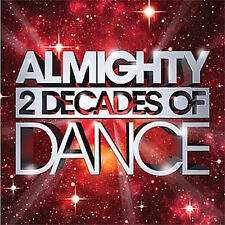 """Almighty: 2 Decades Of Dance (Jun 2010) 2xCD Mixed & LTD ED 12"""" Collection 2XCD"""