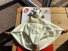 Brand New Sophie Giraffe comforter blankie blanket with soother dummy holder