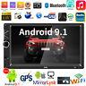 "7"" 2DIN HD Car Stereo MP5 MP4 Player Android 9.1 BT GPS Navi FM Radio Head Unit"