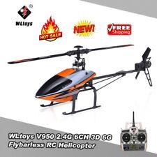 WLtoys V950 2.4G 6CH 3D 6G Brushless Motor Flybarless RTF Helicopter RTF