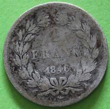 FRANCE 1 FRANC LOUIS PHILIPPE I 1846 A