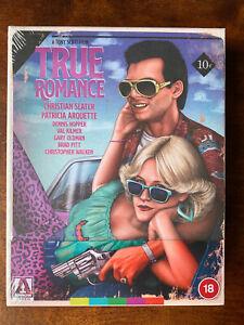 True Romance Blu-ray Box Set Ltd Ed Remastered Tarantinto Arrow Video