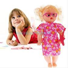 Handmade Lifelike Baby Girl Doll Silicone Vinyl Reborn Baby Newborn Toy Gift #A