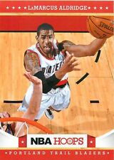 2012 13 Panini NBA Hoops #124 LaMarcus Aldridge Trail Blazers NM Trading Card