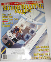 Motor Boating & Sailing Magazine OMC's New Diesel Stern March 1991 072914R