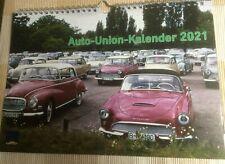 Audi DKW Auto Union Kalender 2021
