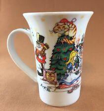 Alice's Christmas Tea Party 150Th Anniversary Edition Paul Cardew Mug