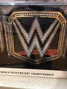 WWE World Heavyweight Championship Title Belt Adult Replica JAKKS COLLECTIBLE
