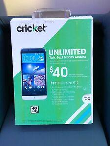 Cricket Wireless 4G LTE HTC Desire 512 (Unlocked)