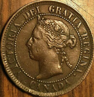1895 CANADA LARGE CENT PENNY LARGE 1 CENT - Nicer example!