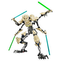 Star Wars Buildable General Grievous Action Figure Toy For Kid Without Box