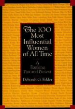 The 100 Most Influential Women of All Time: A Ranking Past and Present