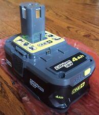 New Ryobi Lithium 18V P197 LI-ION 18 Volt 4.0Ah Battery New