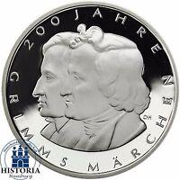 Deutschland 10 Euro Grimms Märchen Silber 2012 Spiegelglanz Silber-Münze