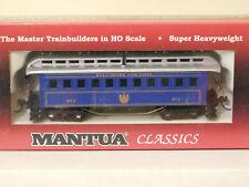 BALTIMORE & OHIO ** O/T 1890 ROYAL LIMITED COACH ** Mantua HO Scale Train *MINT*