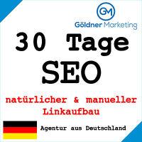 ★ 30 Tage Suchmaschinenoptimierung manueller Linkaufbau Backlinks Website SEO ★