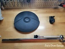 Roland CY-8 Dual Trigger V-Drum Cymbal Pad w/Boom Cymbal Arm & Clamp - M5A6705
