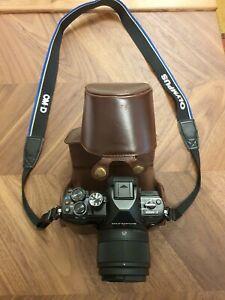 Olympus OM-D E-M10 II Kamera Top Zustand Fotoapparat Lumix G 1,7/25 Asph.