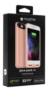Mophie Juice Air Pack Wireless Charging Battery Case iPhone 7 Plus iPhone 8 Plus