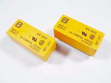 10 x SDS Relais S4-24V 24V 4xEIN 250V 4A Panasonic Gold #20R14#
