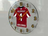 "FREE CUSTOMIZATION - N F L FOOTBALL JERSEY THEMED WALL CLOCKS - 12"" x 12"" x 2"" !"