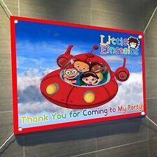 """Little Einsteins Vinyl Banner Sign Poster 30"""" x 24"""", Backdrop 2.5'x2'"""