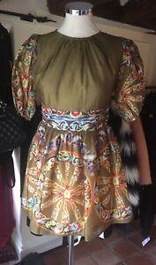 DOLCE & GABBANA Silk Blend Mini Dress