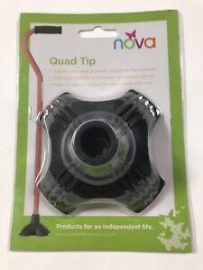 """Nova Quad Tip For 3/4"""" Cane"""