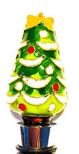 NEW! Christmas Tree Holiday Wine Cork Topper from WIlliams Sonoma Cloisonne Art