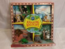 McDonald's Toy Display 1994 Amazing Wildlife Happy meal all 8 Toys in display