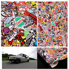 "Graffiti Cartoon JDM Bomb Car Bike Wrap Phone 20""x30"" Decal Waterproof Sticker"