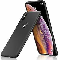 For iPhone  X XR XS Max Matte Case Shockproof Ultra Thin Slim Hard Cover