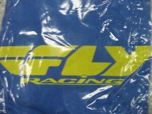 FLY RACING T-Shirt (Blue) SMALL 352-0241S cycling BMX Motocross Mountain bike