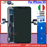 Schermo Display LCD Per iPhone XS Nero OLED Touch Screen Digitizer Parti Frame