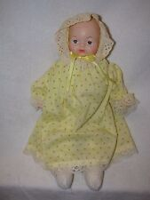 "17"" Vinyl/Cloth Baby Doll"