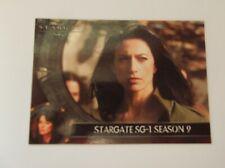 "Rittenhouse ""STARGATE SG-1""  #INT S9 Promo Trading Card TV Series (1997-2007)"