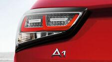 Audi A1 original LED tail lights rear lights in chrome finish 8X0052100
