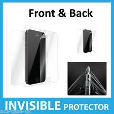 IPhone SE invisible escudo protector de pantalla completa de la parte delantera y trasera-Grado Militar