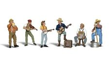 Jug Band #1902 HO Scale Woodland Scenics figures people Model Trains Dioramas