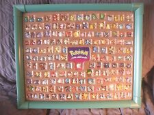 Pokemon Hasbro Mini Figure Collector's Set Display Case 152 Set Frame Ash Go Mew