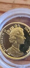 More details for 1994 isle of man gold twentieth ounce angel coin in near mint in capsule