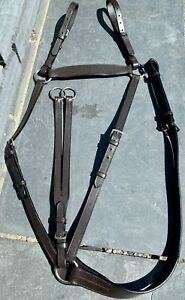 Adjustable Leather Hunting Breastplate - Running Martingale Attachment-FREE POST