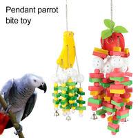Bird Supplies Home & Garden Confident 116cm Bird Parrot Perch Spiral Cotton Linen Rope Swing Climbing Pet Supplies Bird Toy Hot