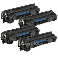4 Pack Comaptible CE285A 85A Toner For Laserjet Pro P1102 M1132 M1212nf M1217nfw